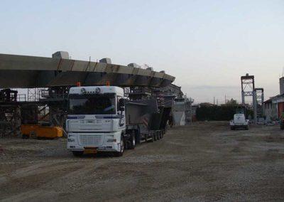 Trasporto eccezionale Carpenteria Pesante Carturan